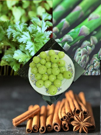 Natural Remedies for PCOS and Hypothyroidism, Lose weight with natural spices. Indian Gooseberry Amla, Curcumin Turmeric, Coriander,Cilantro, Shatavari, Coconut Oil, Fenugreek seeds helps in improving symptoms with PCOS and Hypothyroidism